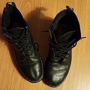 Doc Martens Air Wair black boots